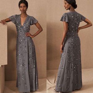 NWOT Anthropologie BHLDN Plymouth Beaded Dress 2
